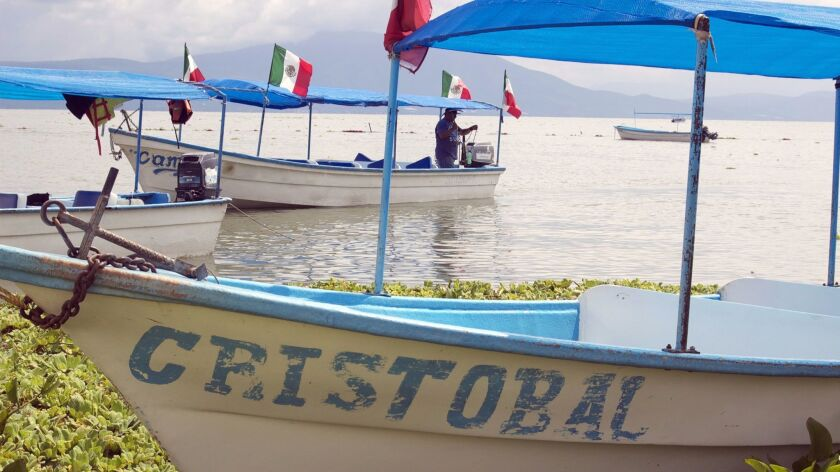 Lake Chapala is Mexico'€™s largest freshwater lake. Hire a boat from the town of Mezcala de la Asuncio and venture to the nearby islands.