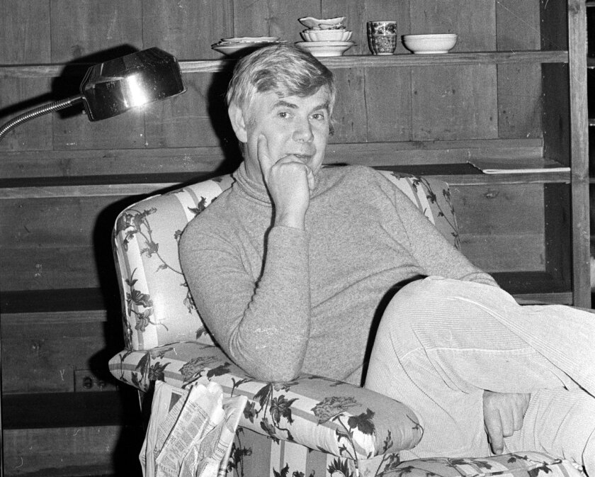 This 1978 image released by Fairchild Publications shows John B. Fairchild, who headed his family's publishing business, Fairchild Publications Inc., for more than 30 years, including a long stint as the tyrannical editor in chief of Women's Wear Daily and founding chief of W magazine. Fairchild died Friday, Feb. 27, 2015 at his Manhattan home after a long illness. He was 87. (AP Photo/Fairchild Publications)