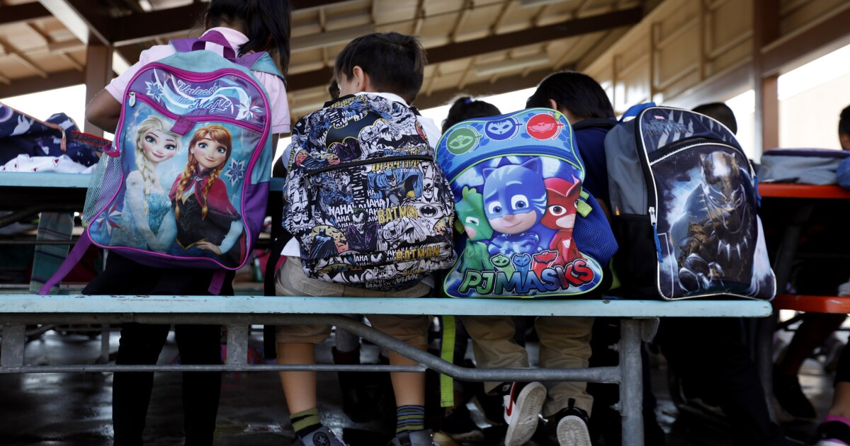 California's homeless students could fill Dodger Stadium 5 times, study finds