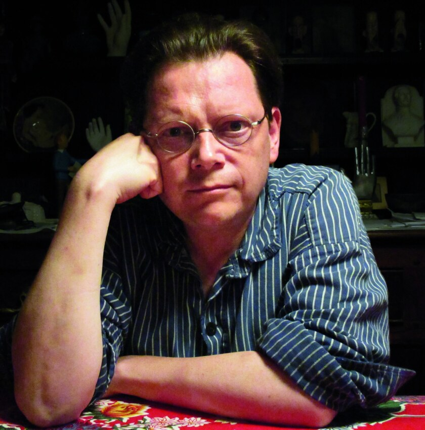 "An author photo of Edward Carey for his novel ""Little."" Credit: Elizabeth McCracken"