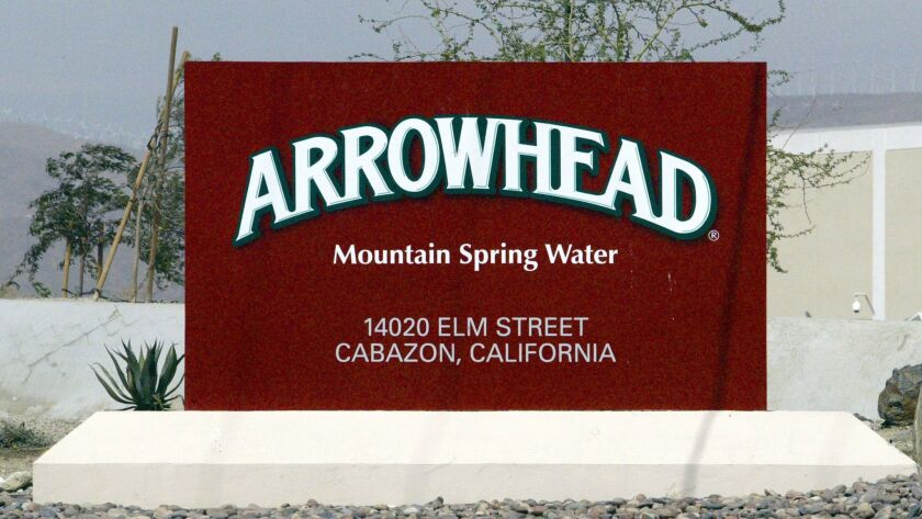 A state board notified Nestle that an investigation concluded it didn't have rights to about three-quarters of the water it withdraws from the San Bernardino National Forest for bottling.