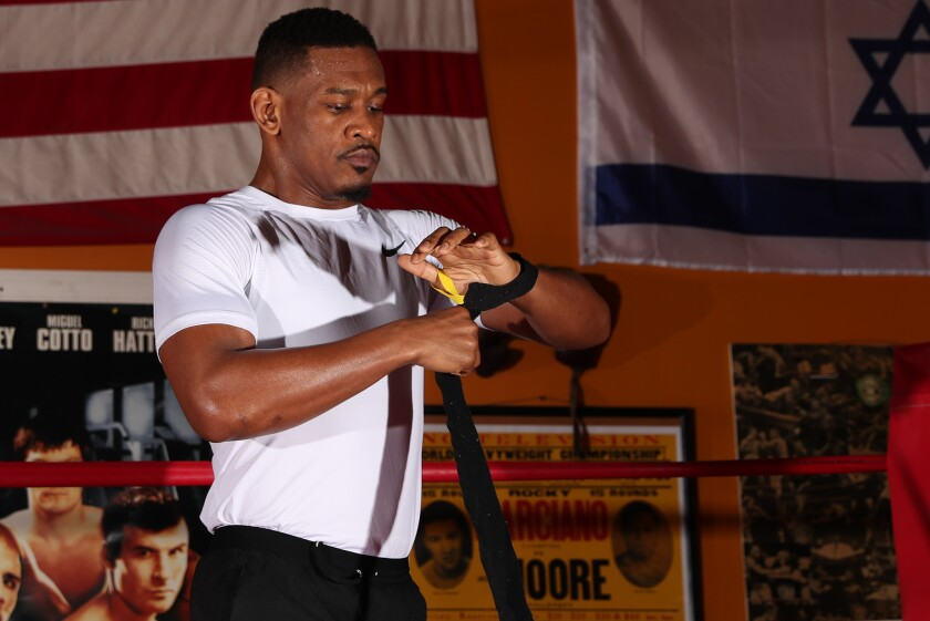 Boxing: Daniel Jacobs Workout