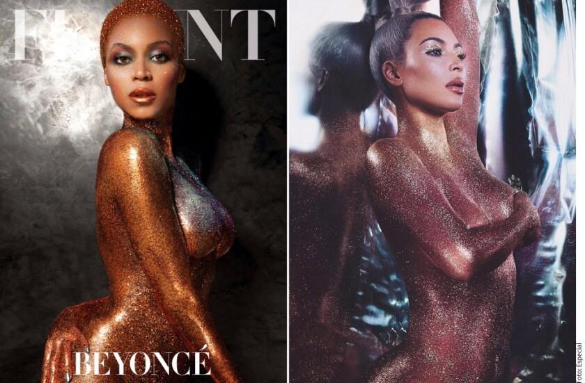 Kim Kardashian ha causado polémica por su más reciente campaña publicitaria de cosméticos, y no precisamente por tratarse de un desnudo.
