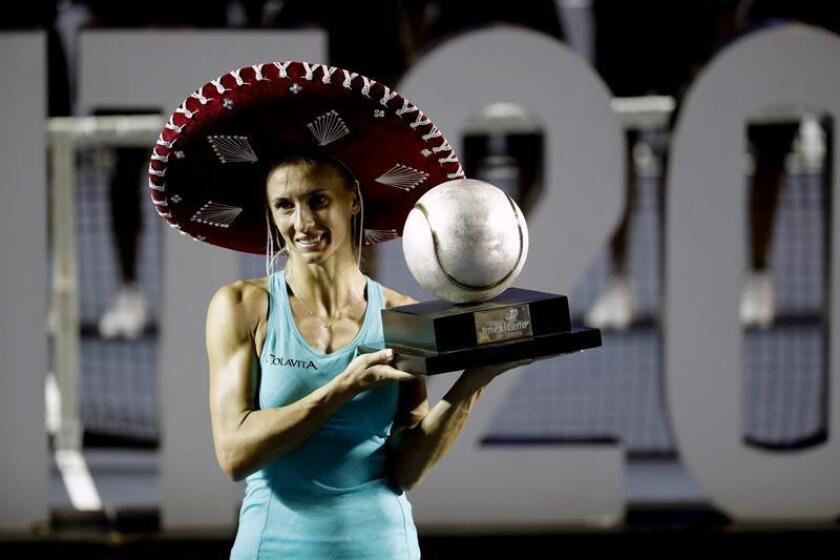 La ucraniana Tsurenko vence a la suiza Voegele y retiene el título en Acapulco