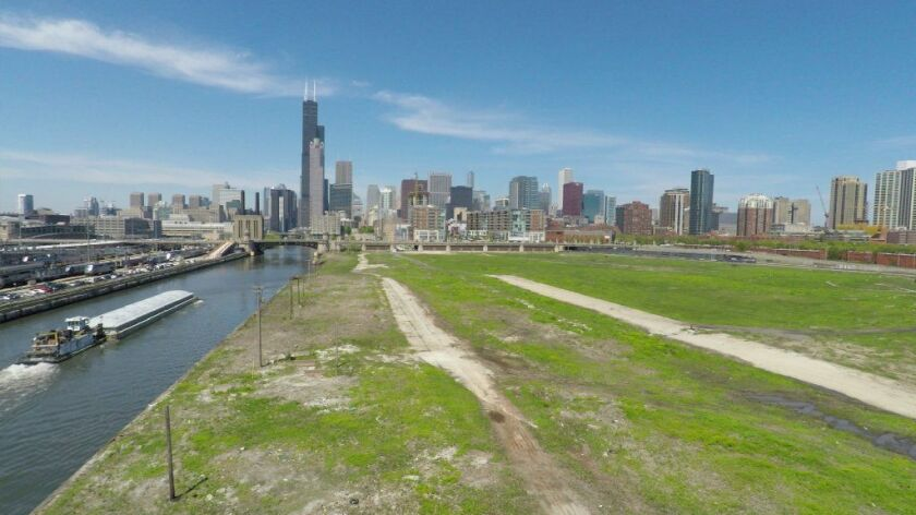 In mid-August, members of Amazon's HQ2 site selection team made a return visit to The 78, Related Midwest's 62-acre planned development in the South Loop. Chicago was not chosen for the Amazon project, it was announced Nov. 13, 2018.