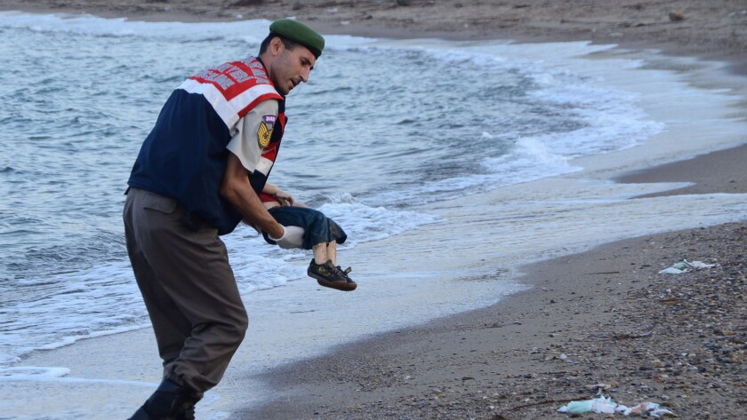 The death of Syrian toddler Aylan Kurdi in September 2015 threw a global spotlight on the refugee crisis.