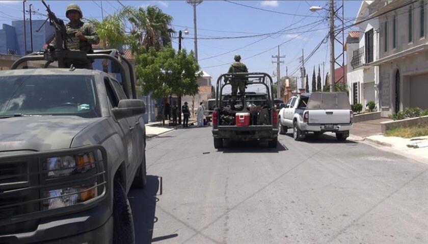 """Las autoridades mexicanas detuvieron en el nororiental estado de Tamaulipas a Luis Miguel González Mercado, alias """"el Flaco Sierra"""", presunto líder de una de las facciones del Cártel del Golfo, informaron hoy fuentes oficiales. EFE/Archivo"""