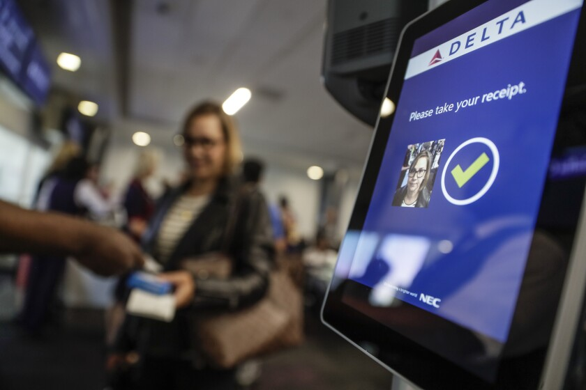 Facial recognition at LAX