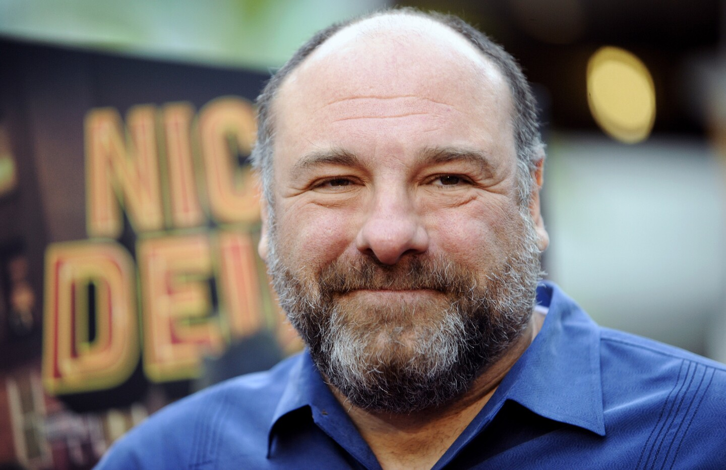 """James Gandolfini at the L.A. premiere of Nickelodeon's """"Nicky Deuce."""""""