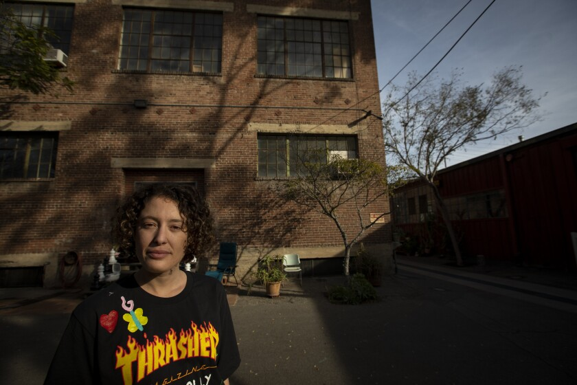 Santa Fe Art Colony Tenants Look To New Rent Law To Stop Eviction Los Angeles Times