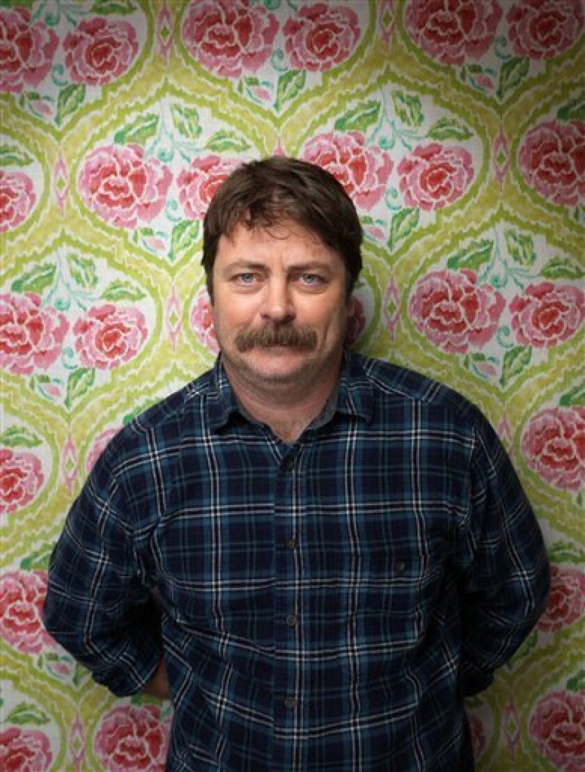 Nick Offerman A Funny Man With A Plan On Parks The San Diego