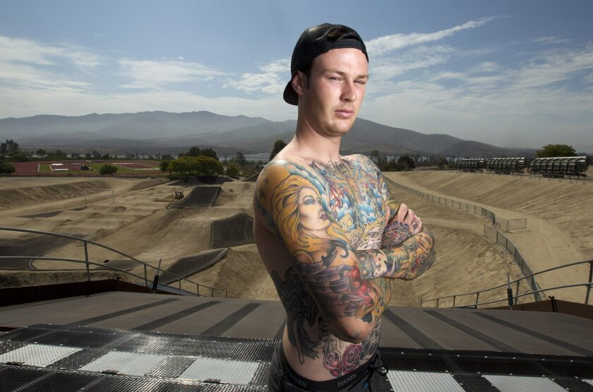 BMX racer Nic Long will go with the US Olympic Team in London.