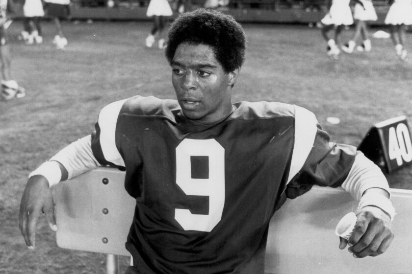 Lincoln's Marcus Allen heads the list among local high school football greats.