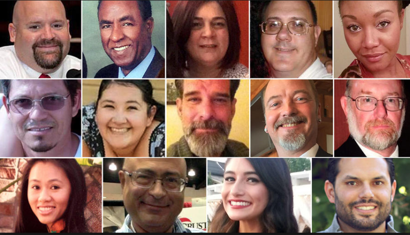 Victims of the San Bernardino shooting