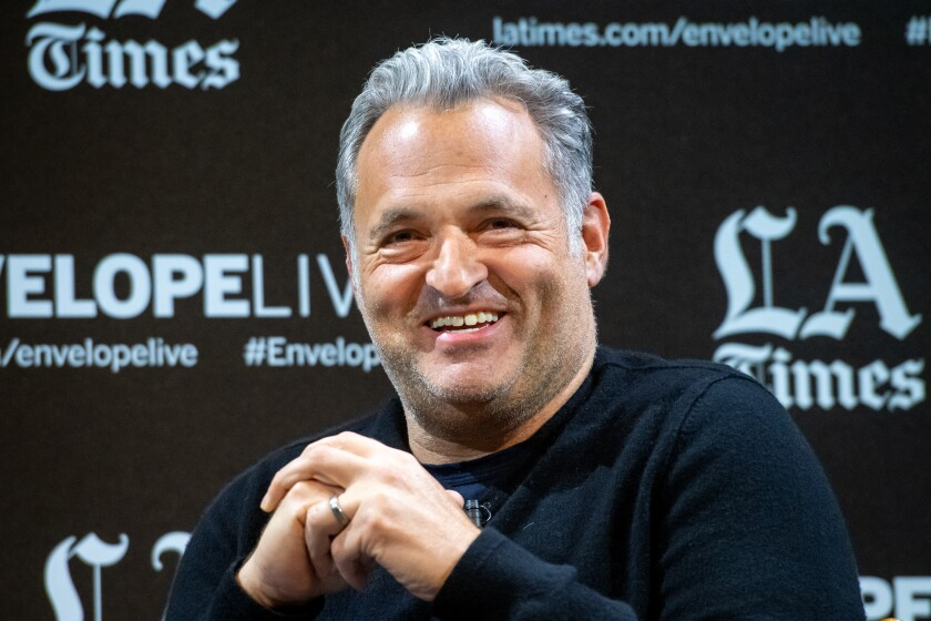 """The 2-D animation hero Genndy Tartakovsky at an Envelope Live Q&A for """"Primal: Tales of Savagery."""""""