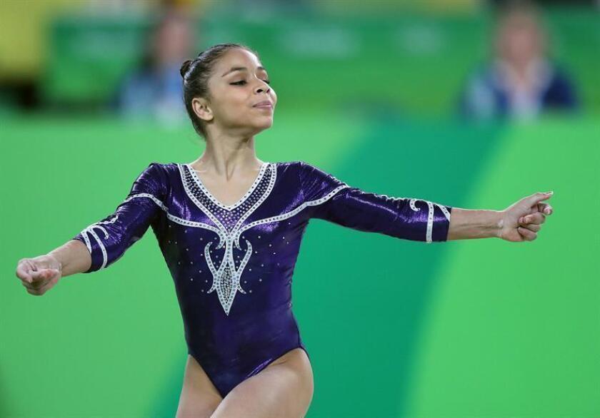 La gimnasta brasileña Flávia Saraiva. EFE/Archivo