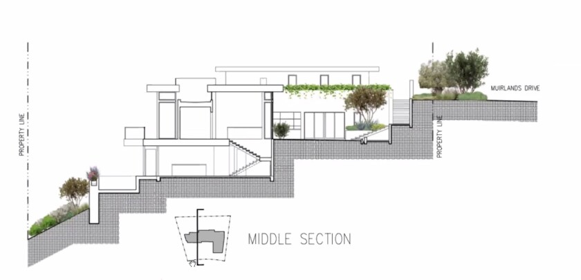 A new house proposed for Muirlands Drive received approval from the La Jolla Development Permit Review Committee on Sept. 21.