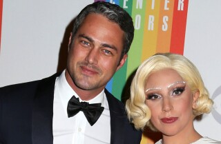 Lady Gaga engaged to Taylor Kinney -- with heart-shaped ring