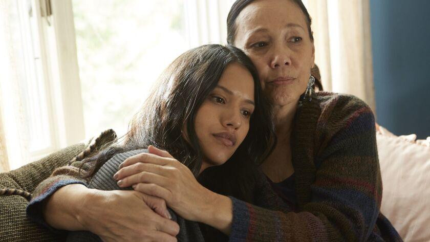 "Tanaya Beatty and Tina Keeper star in ""Through Black Spruce."""
