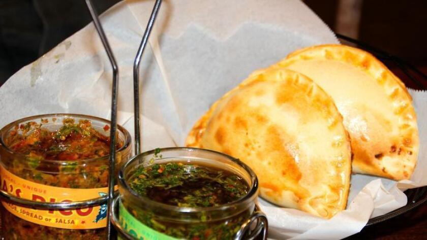 Empanadas from Papa Luna (/ Amy T. Granite)