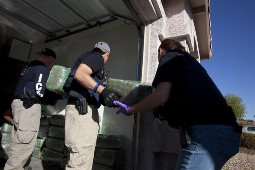 La fiscalía general de Nueva York presentó hoy 89 cargos contra diez personas, todas ellas hispanas, a las que acusó por operar una red de distribución de heroína en los condados de Brooklyn y de Queens. EFE/ARCHIVO/SÓLO USO EDITORIAL