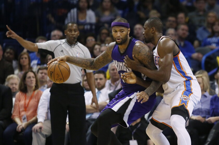 Sacramento wins at Oklahoma City as Thunder's Kevin Durant sits out with an injury