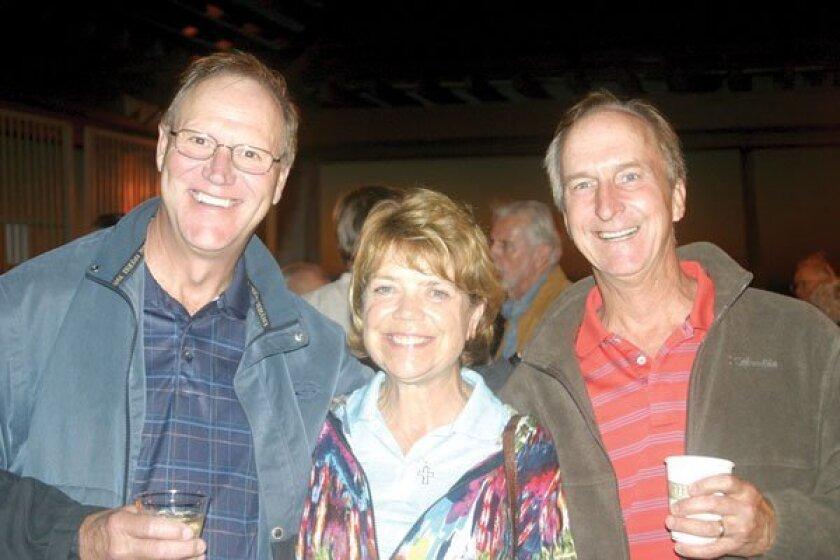 Mike and Doris Kendall, and Dan Crabtree. Photos by Lynn Gaylord