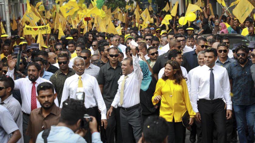 Ibrahim Mohamed Solih, Mohamed Nasheed