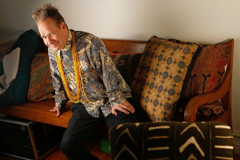 Peter Sellars at his home in Culver City in 2013.