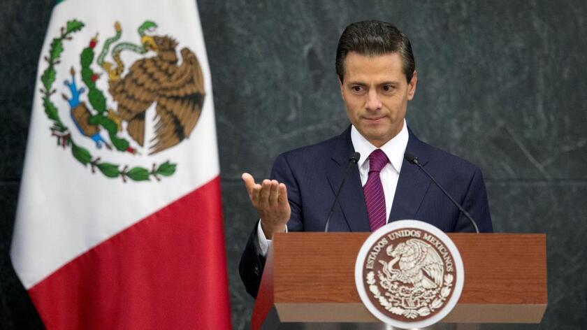 Foto de archivo del Presidente Enrique Peña Niet.