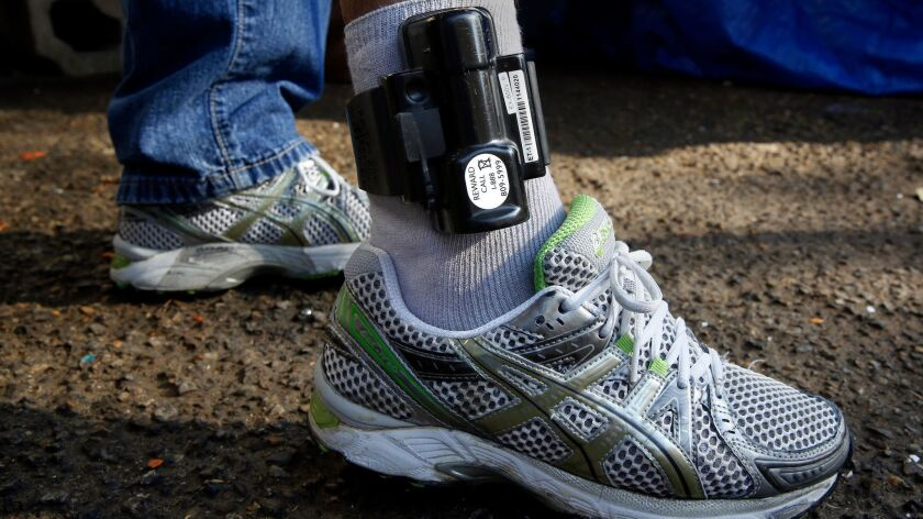 "As part of the ""catch and release"" of immigrants, each man and woman is fit with a tracking ankle cuff to ensure they show up for their immigration hearings in coming months."