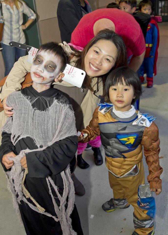 Evan, Lisa, and Kaiden Lee