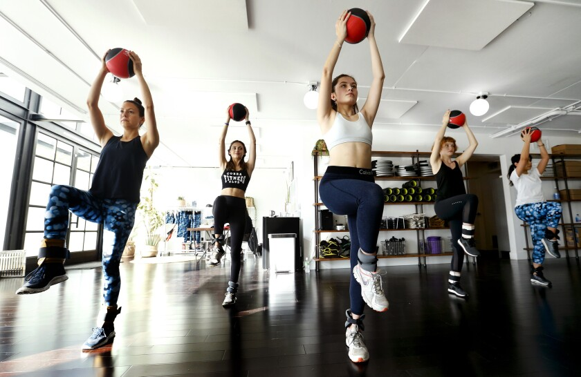 The 'Supermodel Workout'