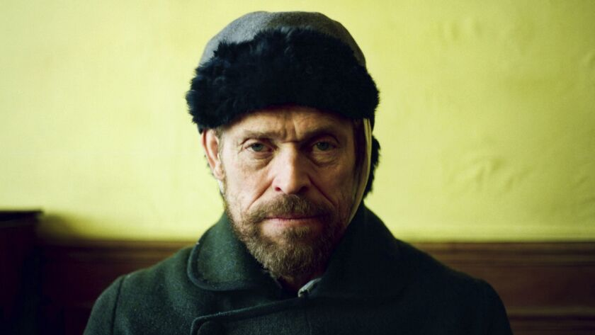 """This images released by CBS Films shows Willem Dafoe as Vincent Van Gogh in """"At Eternity's Gate."""" On"""