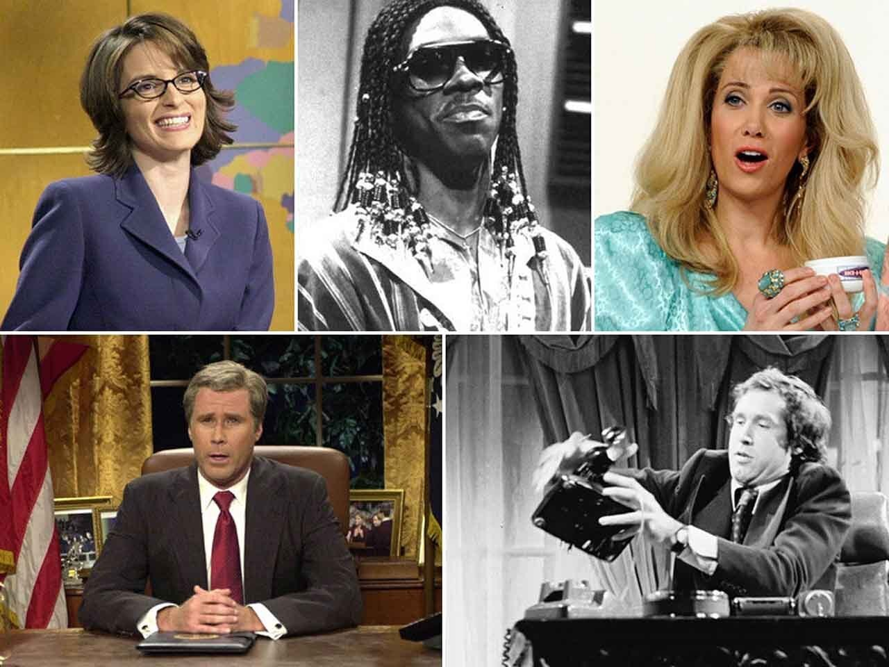 """""""Saturday Night Live"""" celebrates its 40th anniversary this year. And many former cast members are returning for a reunion. Here's a look at what some of the show's most notable comedy stars have been doing since they left 30 Rock behind."""