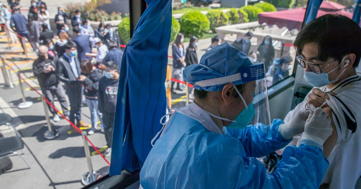 China considers mixing COVID-19 vaccines to boost immunity  image