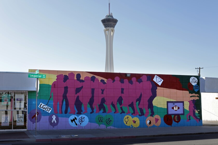 """LGBT Mural"" by Grace Ann Morgan and Lois Dohra"