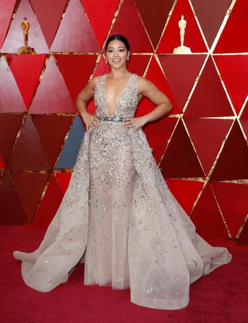 """La actriz latina Gina Rodríguez, conocida por la serie """"Jane the Virgin"""", protagonizará una película para la plataforma digital Netflix sobre Carmen Sandiego. EFE/EPA/Archivo"""