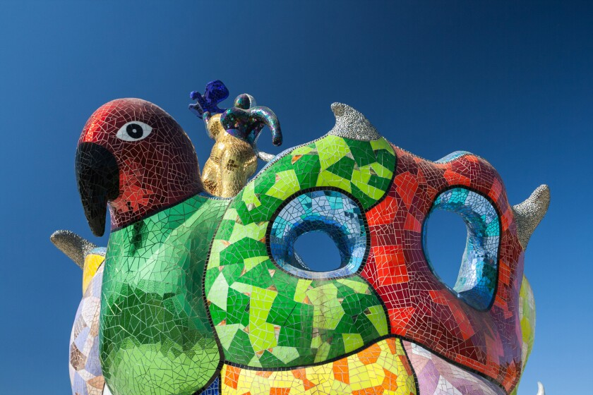 Niki de Saint Phalle, Queen Califia's Magical Circle, Escondido, California, 2007.