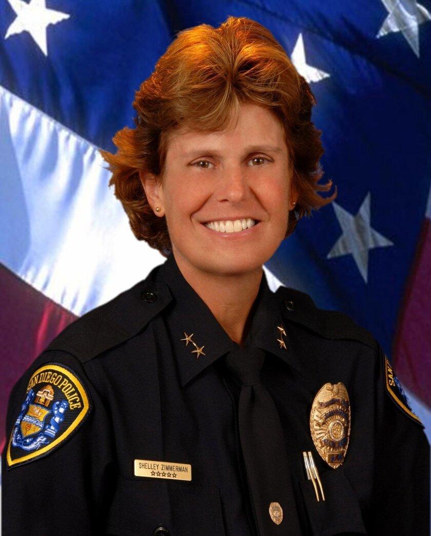 San Diego Police Chief Shelley Zimmerman