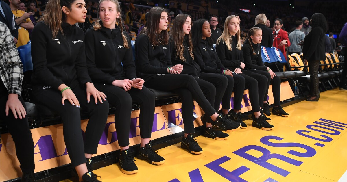 Those who watched Kobe Bryant coach his daughter's youth basketball team the day before he died saw a man at peace and enjoying what he loved to do.