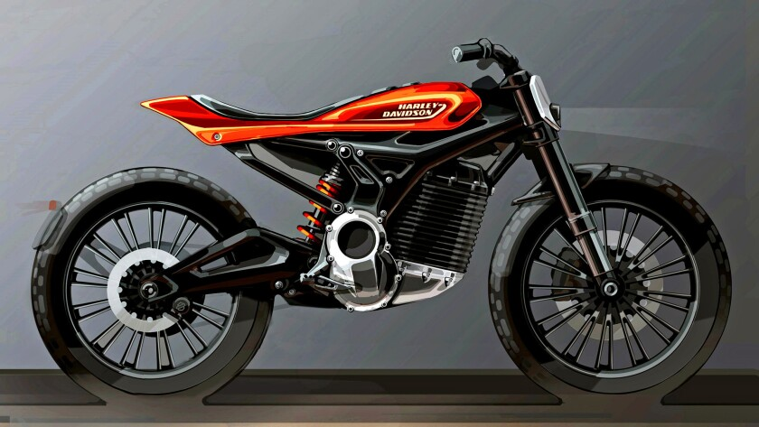 Inspired by the design language of LiveWire, Harley's upcoming electric superbike, the company will