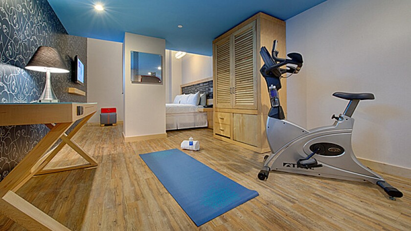 At TRYP, there's excuse not to break a sweat.