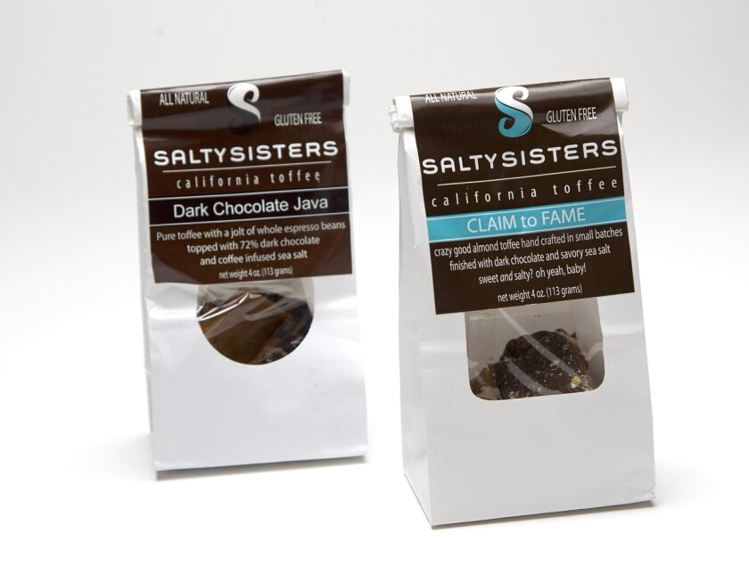 Salty Sisters assorted chocolates.