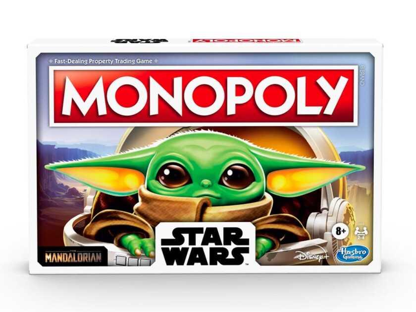 Ensemble Baby Yoda Monopoly