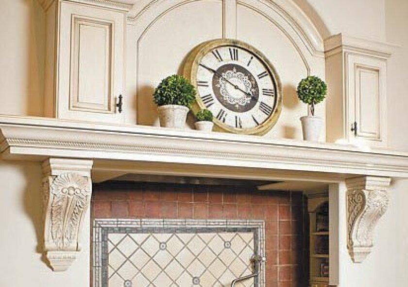 Accessorizing Fireplace Mantel The San Diego Union Tribune
