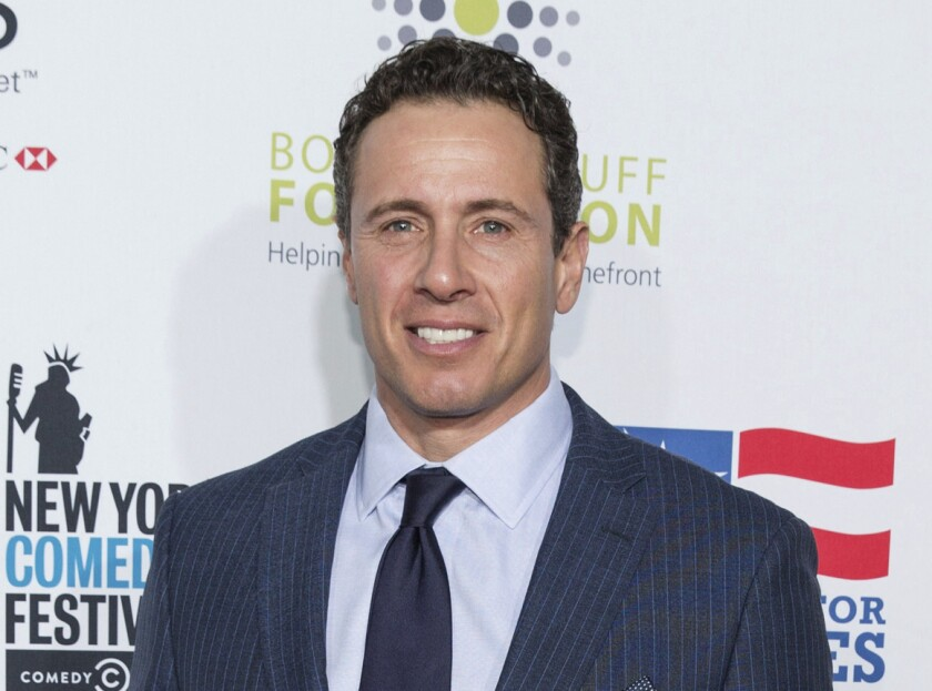 Chris Cuomo, shown in 2015, said he had fevers, chills and shortness of breath.