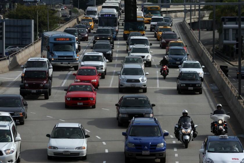 Traffic at LAX