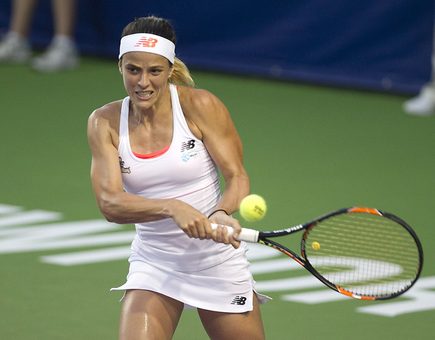 Column: Nicole Gibbs' cancer battle has bolstered her commitment to tennis