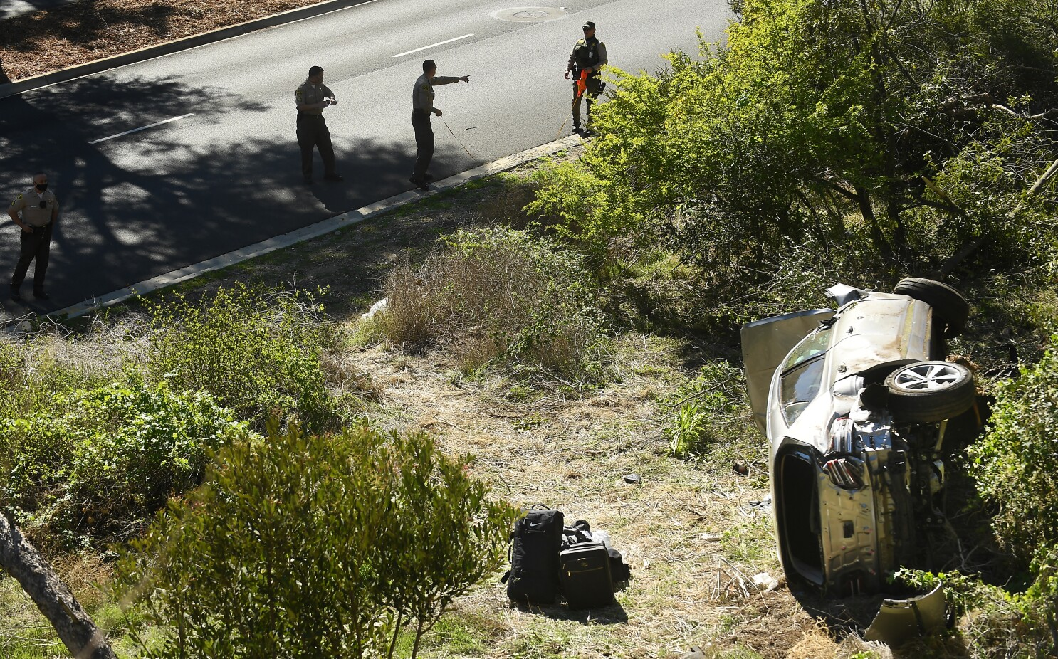 Tiger Woods accident road known for high speeds, danger - Los Angeles Times